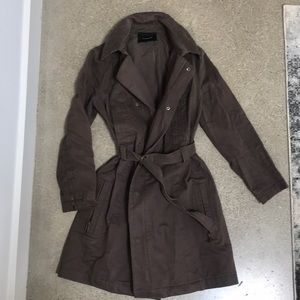 8ac30ee9313 Isabel Marant · Isabel Marant Lightweight Trench Coat Sz 1 brown